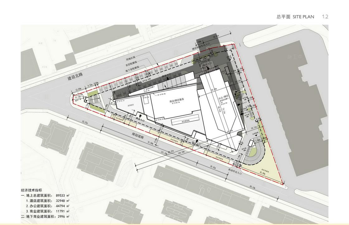 成都世茂猛追湾酒店建筑方案设计