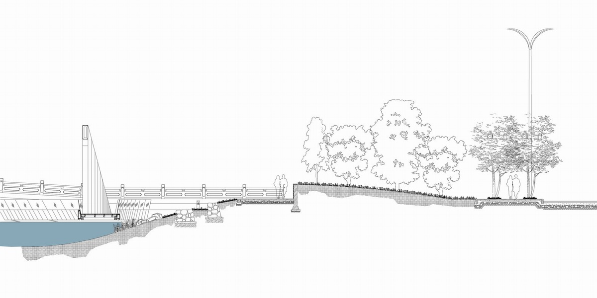 银川艾依河滨水景观公园 | 铅笔汇-高品质su模型交流