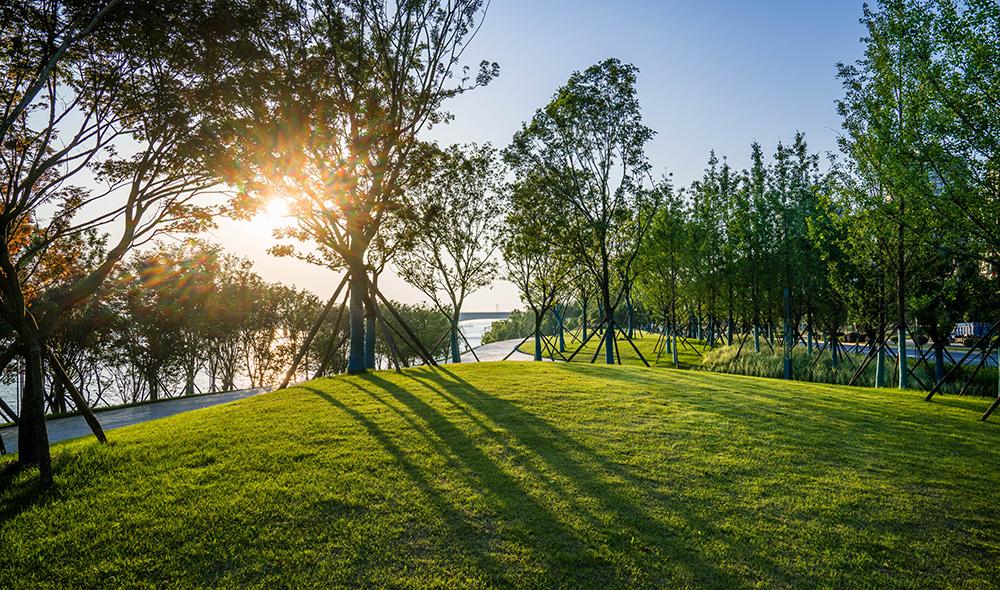 """长沙金霞风光带及鹅羊山公园景观设计-""""THE JOURNEY(旅程)"""" 长沙金霞湘江风光带SU景观模型一二期工程主体完工,大气呈现,为金霞作为国家级物流园区的发展打下坚实的基础。长沙金霞风光带的以THE JOURNEY(旅程)为景观设计理念,用现代的手法,依托丰富的自然条件,力图为湘城右岸打造一段极具国际品质、地域特色、自然和谐的城市游憩体验。长沙金霞风光带是长沙市城北片区重要的景观资源,是湖南省湘江风光带的高潮部分。本项目结合鹅羊山一并打造了一处背山面水的新兴城市门户滨水景观。在现"""