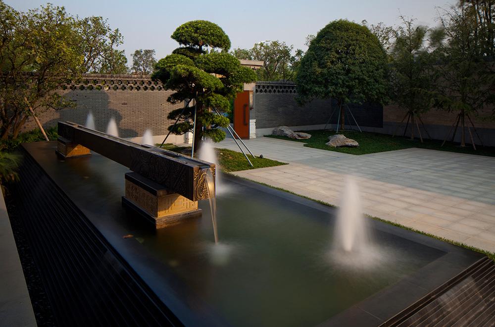 秦禾厦门院子景观设计-新中式院落别墅